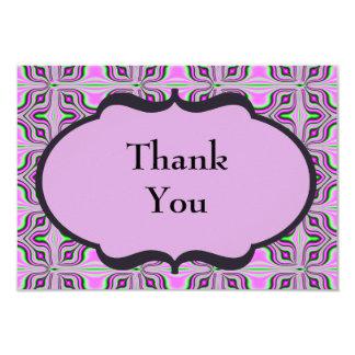 Obrigado malva cor-de-rosa da modificação