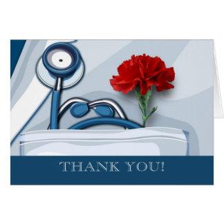 Obrigado. O Dia Customizável Cartão dos doutores