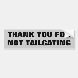 Obrigado para não letras grandes da utilização não adesivo para carro