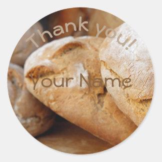 Obrigado personalizado de || Bread|| você Adesivo