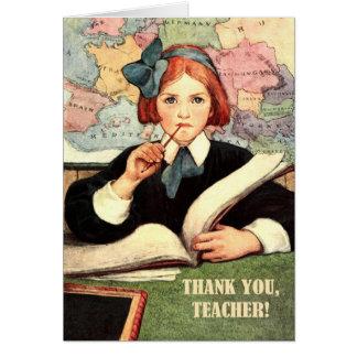 Obrigado, professor. Cartões customizáveis