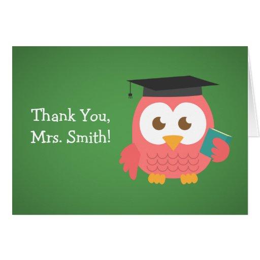Obrigado professor, coruja do professor, rosa cartoes