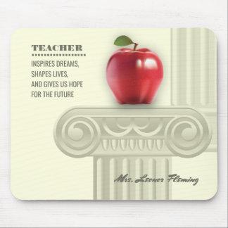 Obrigado, professor. Presente de ensino Mousepads