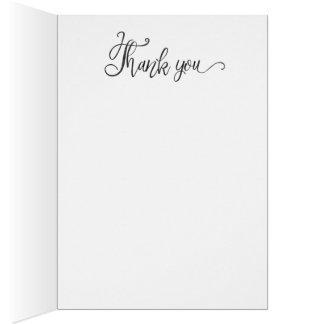 Obrigado que dá o cartão
