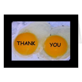 Obrigado sendo Ovo-stra agradável! Cartões de