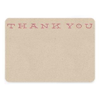 Obrigado simples você cartão de nota