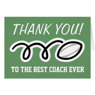 Obrigado treina cartões do rugby de |