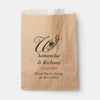 Obrigado Wedding feito sob encomenda elegante de W Sacolinha
