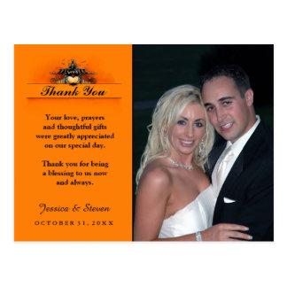 Obrigado Wedding você cartão - amor do Dia das