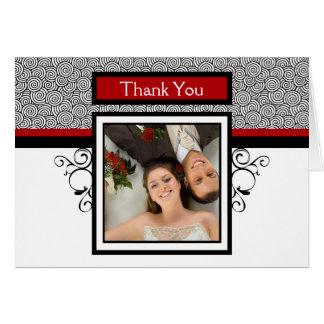 Obrigado Wedding você cartões