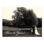 Obrigado Wedding você Cartões Postais