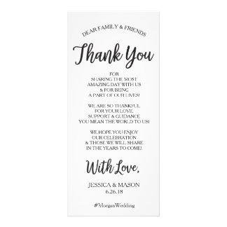 Obrigado Wedding você coloca o cartão - olá!