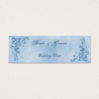 Obrigado Wedding você favorece cartões: Elegância Cartão De Visitas Mini