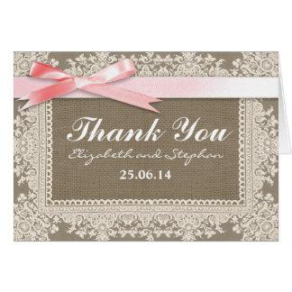 obrigado wedding você serapilheira ata e cartões