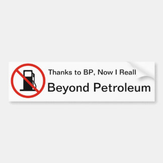 Obrigados BP Adesivo Para Carro