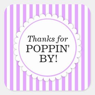 Obrigados para Poppin pela etiqueta quadrada -