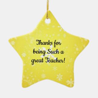 Obrigados para ser tais ornamento de um professor
