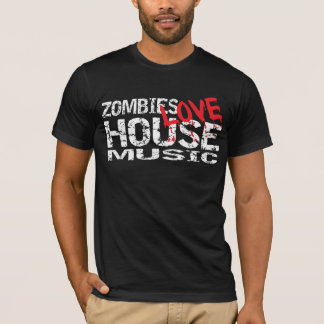 Obscuridade da camisa da música T da casa do amor