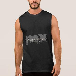 Obscuridade pessoal do instrutor do monograma do camisas sem mangas