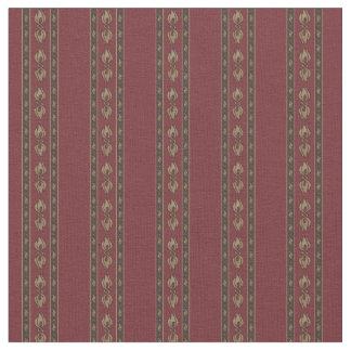 Obscuridade Vintage-Inspirada - tecido vermelho do