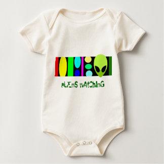 observação dos aliens! body para bebê