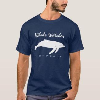 Observador da baleia - t-shirt do Humpback Camiseta