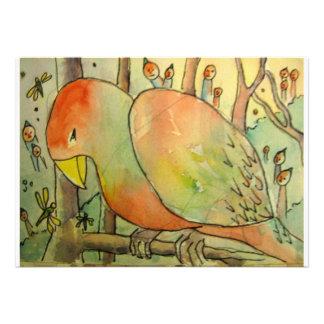 Observadores de pássaro convite