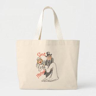 Obtêm a sacola engatada da lua de mel bolsa para compras