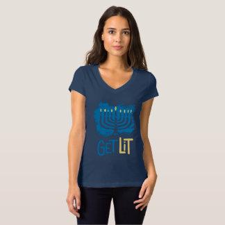 Obtenha a camisa de Hanukkah do Lit