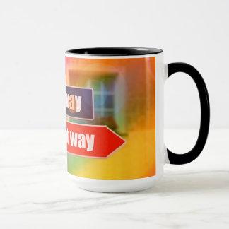 Obtenha a sentidos a caneca de café de 15 onças