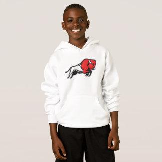 Obtenha a seu EDDIE o hoodie dos miúdos do BISONTE