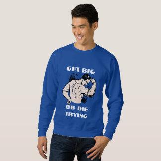 Obtenha grande ou morra tentar - camisetas