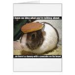 Obtenha logo o coelho bom cartao