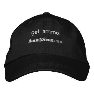 Obtenha o boné do logotipo de AmmoSeek da munição