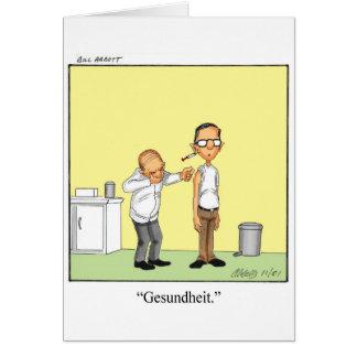 Obtenha o cartão bom do humor