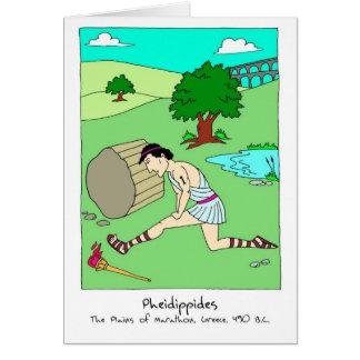 Obtenha o cartão bom para o corredor -
