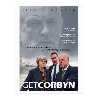 Obtenha o cartão de Corbyn