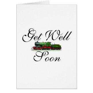 Obtenha o cartão do trem do poço logo
