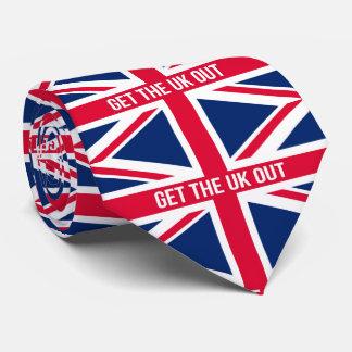 Obtenha O Reino Unido fora da UE Gravata