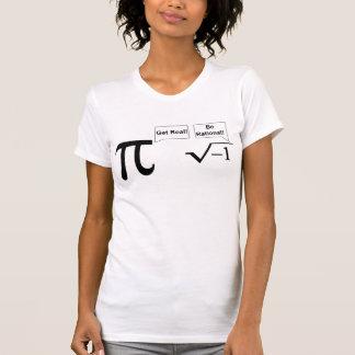 Obtenha real! camisetas