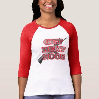Obtenha Rekt Noob T-shirt