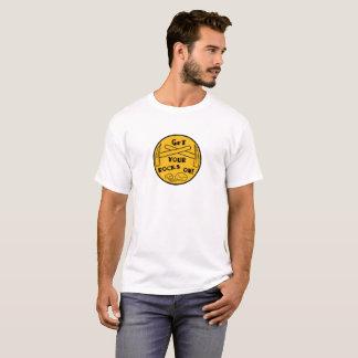 Obtenha suas rochas na camisa