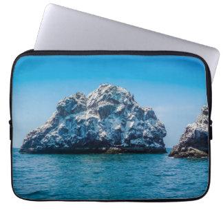 Oceano azul brilhante de Mazatlán Sinaloa México Capas Para Laptop