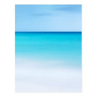 Oceano bonito cartao postal