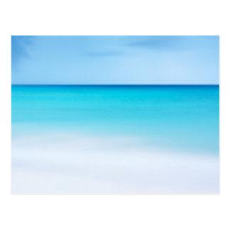 Oceano bonito cartões postais