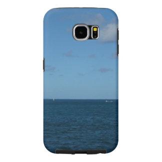 Oceano do azul do horizonte de St Lucia Capas Samsung Galaxy S6