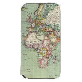 Oceano Índico, Oceano Atlântico Capa Carteira Incipio Watson™ Para iPhone 6