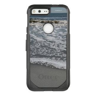 Oceano, ondas da praia, caixa da caixa da lontra capa OtterBox commuter para google pixel