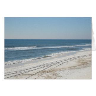 Oceano Sparkling Cartão Comemorativo