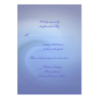 Oceanos do casamento do amor cartão de visita grande